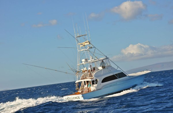 Excellence: Maui luxury sport fishing yacht | Maui fishing ...