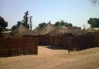 Senegal traditionele huisjes