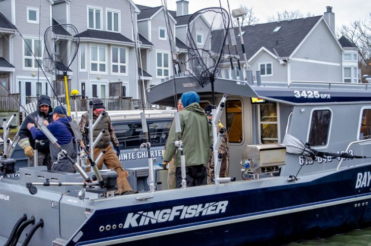 Scott and Dave Walcott run two of the largest guide boats we've ever seen. If you want comfort and fish, check these guys out.
