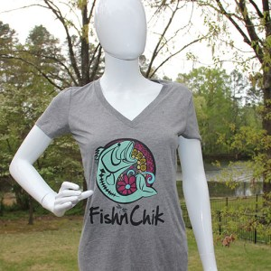 fishnchik, t-shirt, ladies fishing, girls fishing, fishing t-shirt