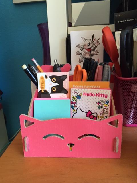 HAPKO (Happy Anime Pink Kitty Organizer) (name courtesy of Alex P)