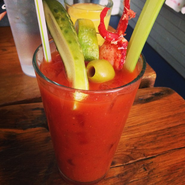 Lobster Joint - Lobster Claw Bloody Mary