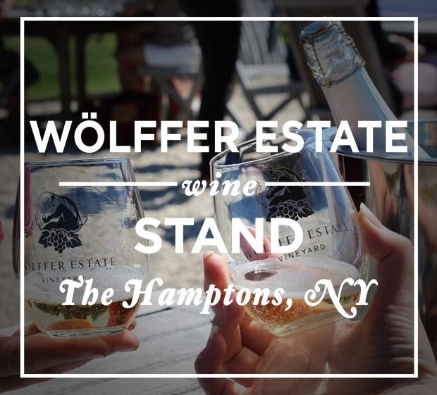 Wolffer Estate Wine Stand