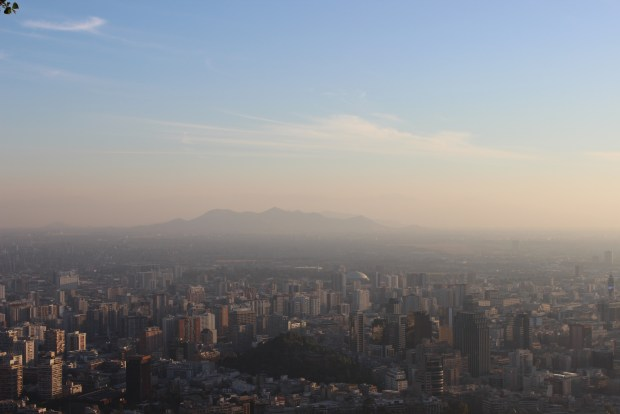 Santiago, Chile Cerro San Cristobal