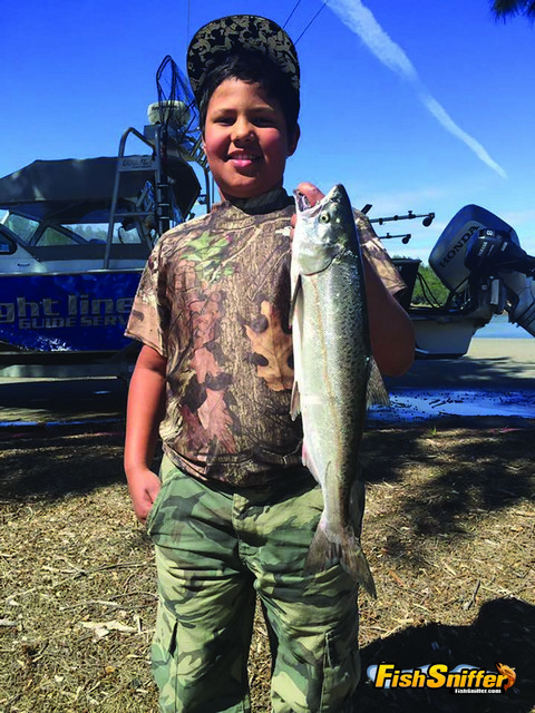 Spotted Bass and Kings Rule at Oroville Lake