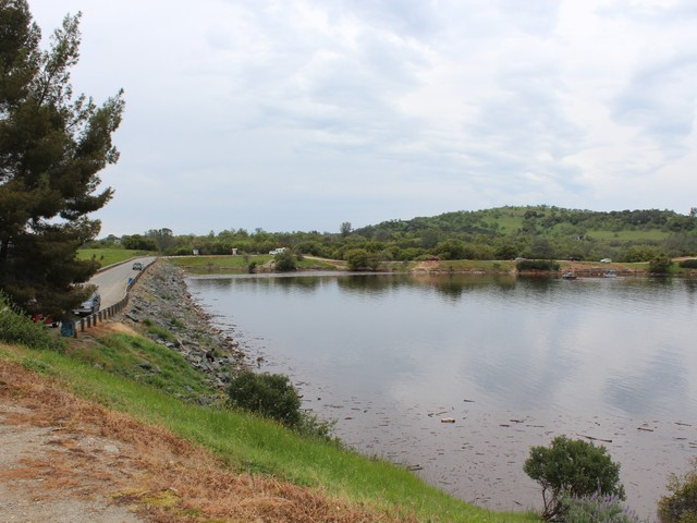 Lake Amador is full to the brim and in great shape for fishing this spring and summer.