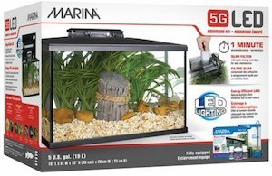 marina led aquarium kit 5 gallon m