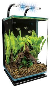 marineland contour glass aquarium kit m
