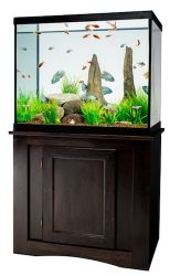 marineland 56 gallon led aquarium ensemble