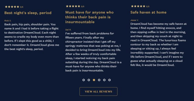 What People Say About DreamCloud