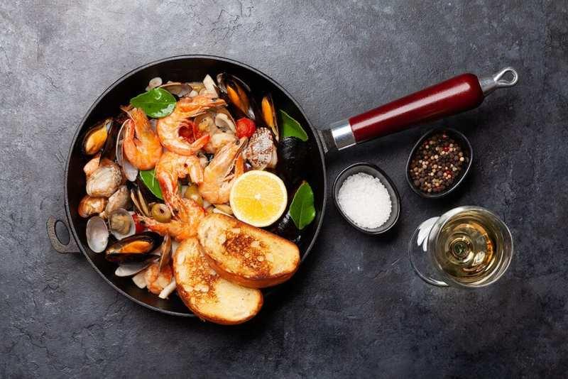 Fructe de mare- savoarea culinară a gastronomiei