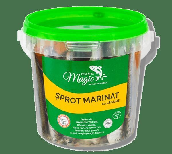 Sprot marinat+legume 600g