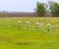 This must have been a terrible accident. Such signs are all through South Dakota to mark traffic deaths.
