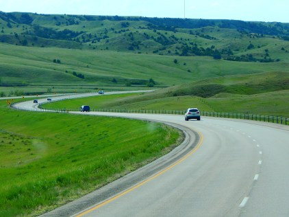 I-90 itself is almost as photogenic as the beautiful South Dakota landscape.
