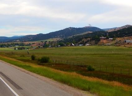 The beautiful Coalville, Utah area beyond Park City.