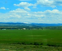 Wyoming must have had a lot of recent rain for it to be so green. It was a beautiful drive this time.