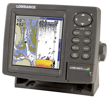 Lowrance LMS 527C iGPS Fish Finder