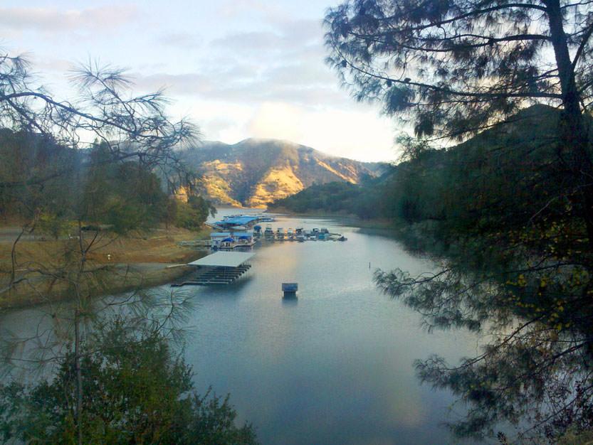 Lake-Berryessa Fishing Hot Spot