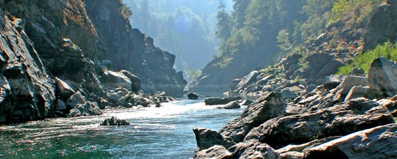 There's some epic scenery in canyons of the lower river!