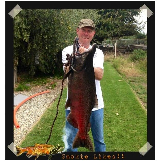 Eric the red smoker of the year contest entry for Knights landing fishing report