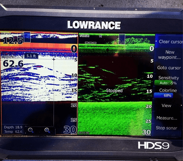 Lowrance HD9 Touch