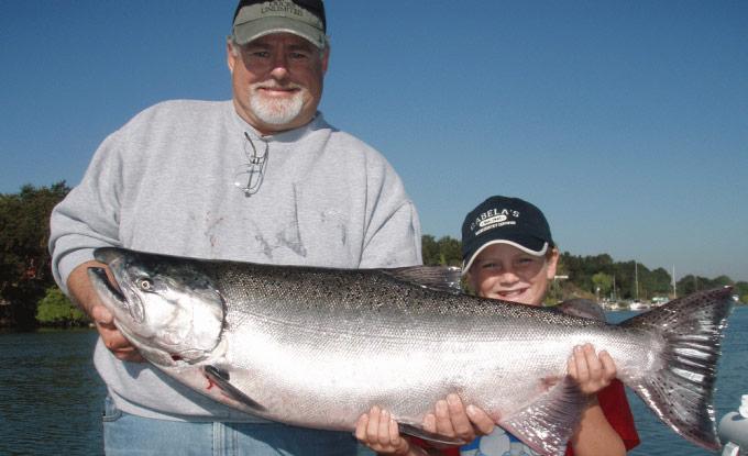 sacramento king salmon