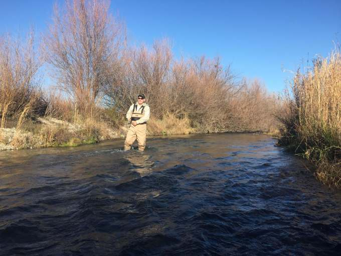 Back footing for steelhead