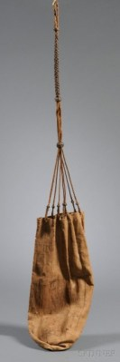 'Sailors ditty bag', before 1900, sold November 20th, 2010 by Skinner Auctioneers, LOT 93, Auction 2527M. More information at: https://m.skinnerinc.com/auctions/2527M/lots/93