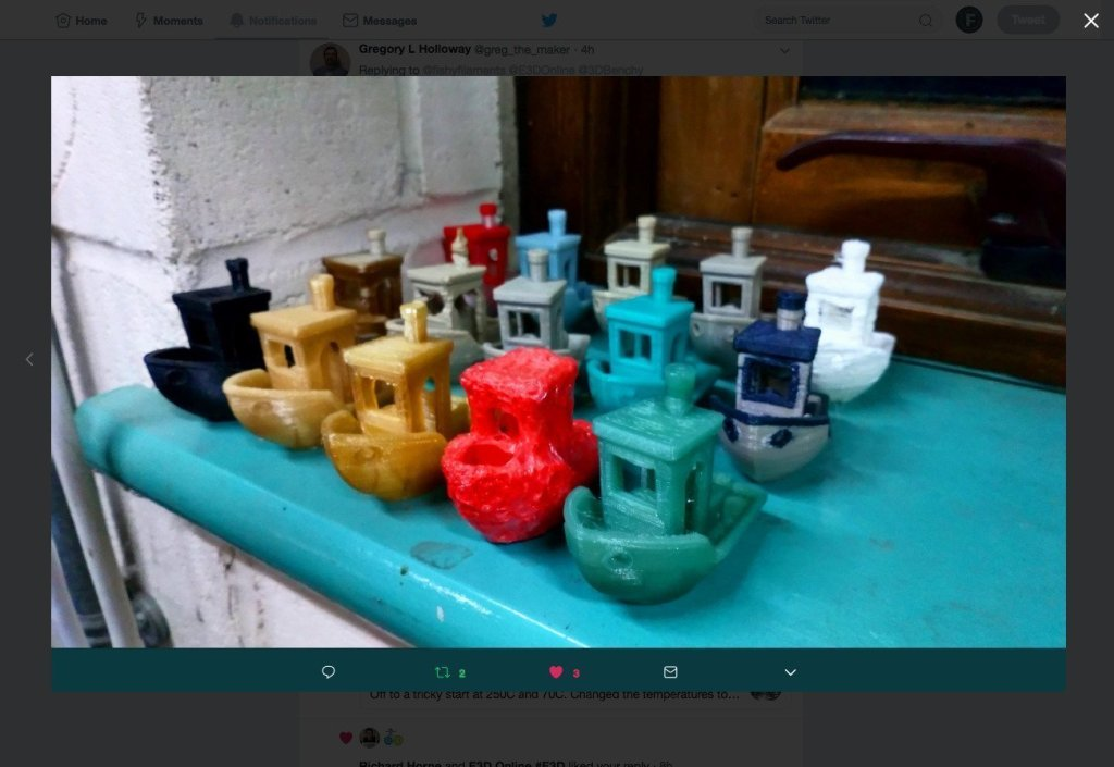 3DBenchy Windowsill of Fame