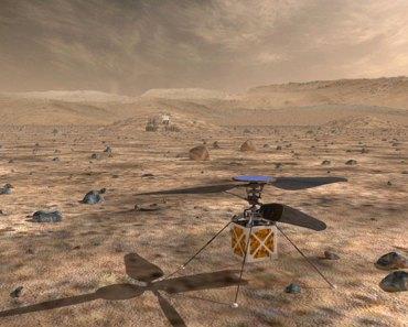 ¿Un dron volador en Marte sería posible? 3