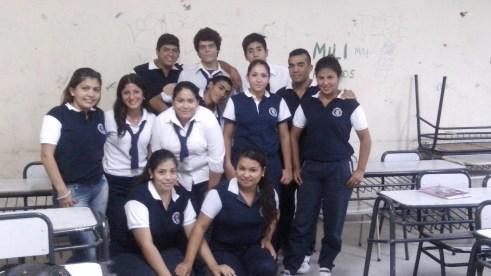 """4° año """"B"""" Col. Sarmiento"""