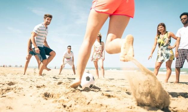 Los grandes beneficios de practicar deporte en la playa