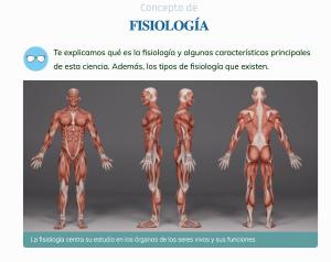 ¿Qué es la fisiología?