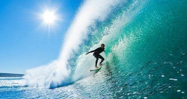 surf divertido y saludable