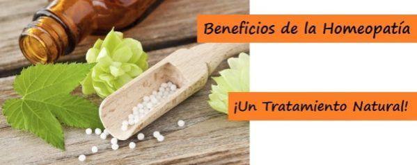 Beneficios de la Homeopatía, un tratamiento natural