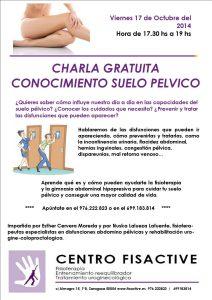 Charla sp octb14