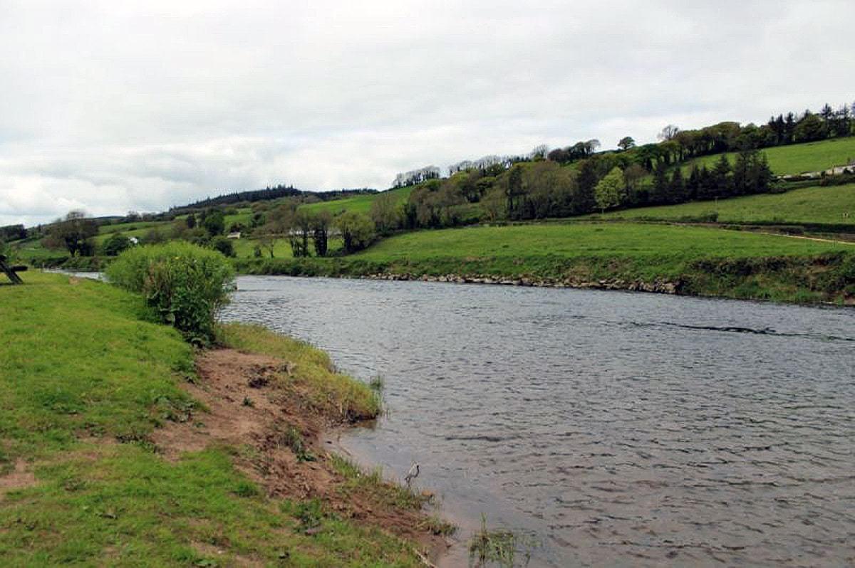 fiskerejser efter Laks, ørred og stør fiskerejse til irland ballyduff bridge beat 1