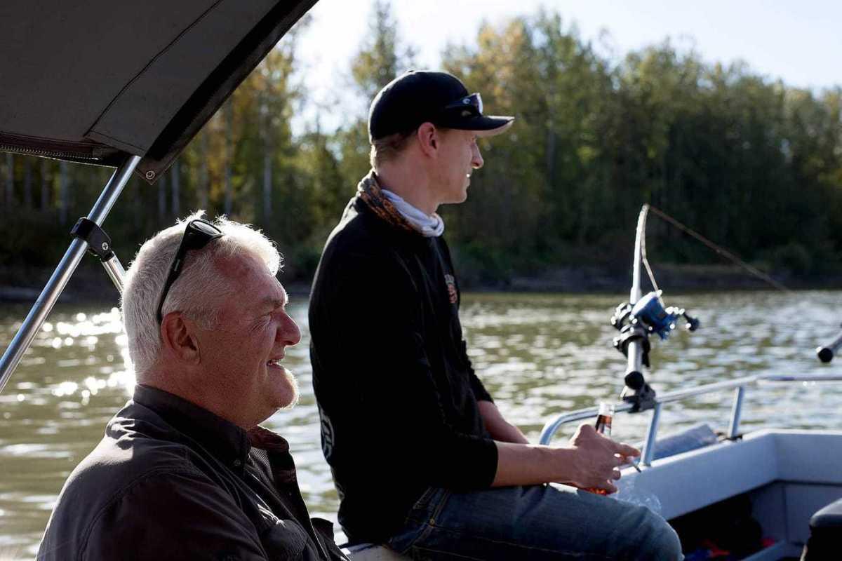 Fiskerejser til BC malthe og jesper på stoer tur