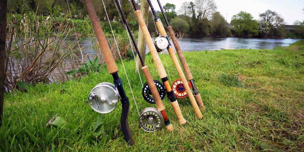 Klar til fiskeri i Blackwater