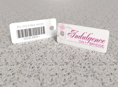 Indulgence on Bridge – key tag