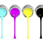 CMYK Paint in Tins