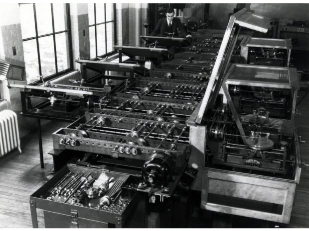 Vannevar Bush's differential analyzer