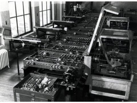 Vannevar Bush's differential analyzer