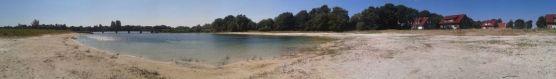 Der Badesee als Wundervolles Panorama :D