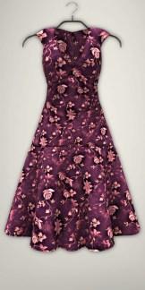 Fission-Kathy dress-Purple