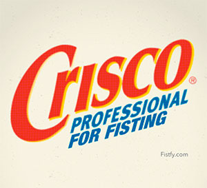 Crisco for Anal Sex
