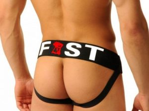 FIST Logo Jockstrap - Black $16.18(24% Off) $21.57