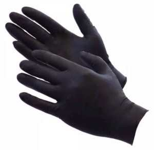 Black Matte Latex Fisting Gloves - Pack of 100 SALE $20.64($25.80)