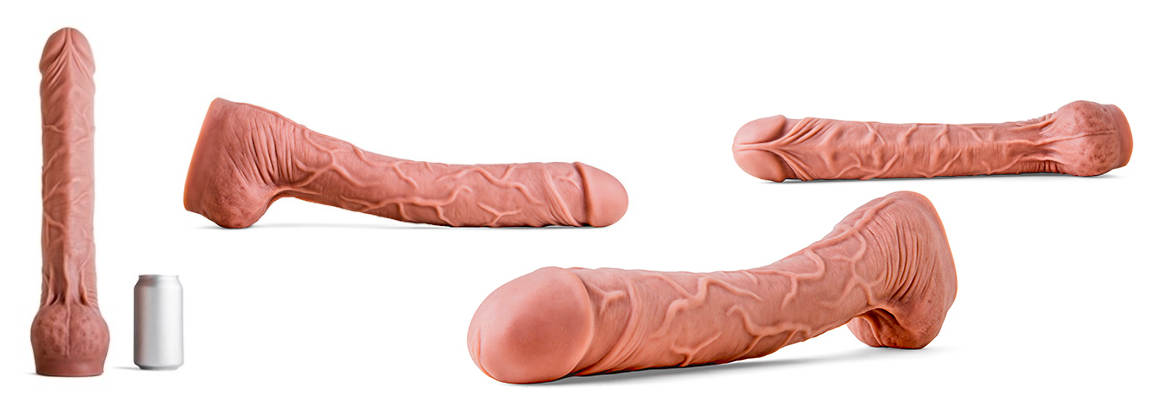 Mr. Hankeys Largo dildo. the Largo is one impressive toy thats sure to hit the spot!