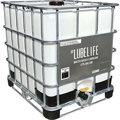 #LubeLife Water Based Personal Lubricant, 275 Gallon